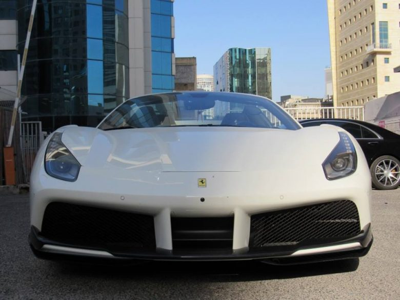 Ferrari 488 Spider with Novitec Kit, Installation by Component LTD of Israel