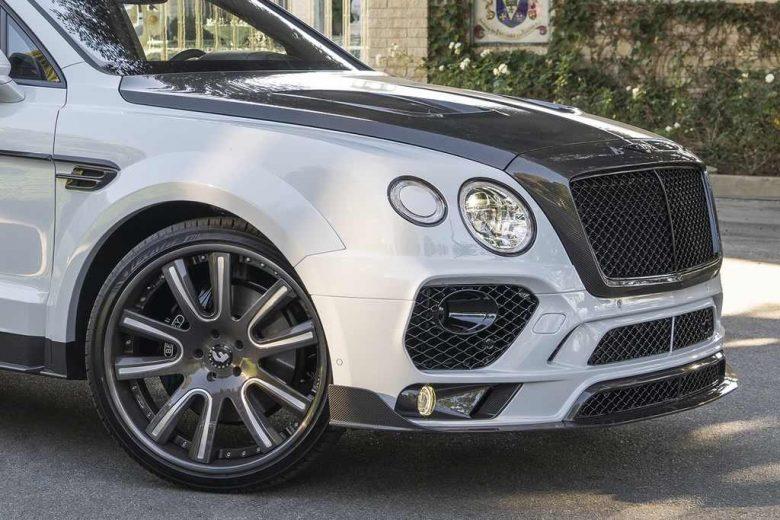 Bentley Bentayga SUV Gets Mansory Body, Installation by RDBLA