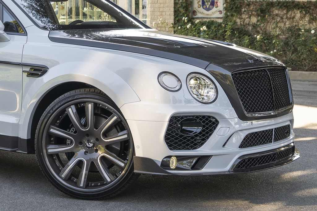 bentley bentayga suv gets mansory body installation by rdbla carz tuning. Black Bedroom Furniture Sets. Home Design Ideas