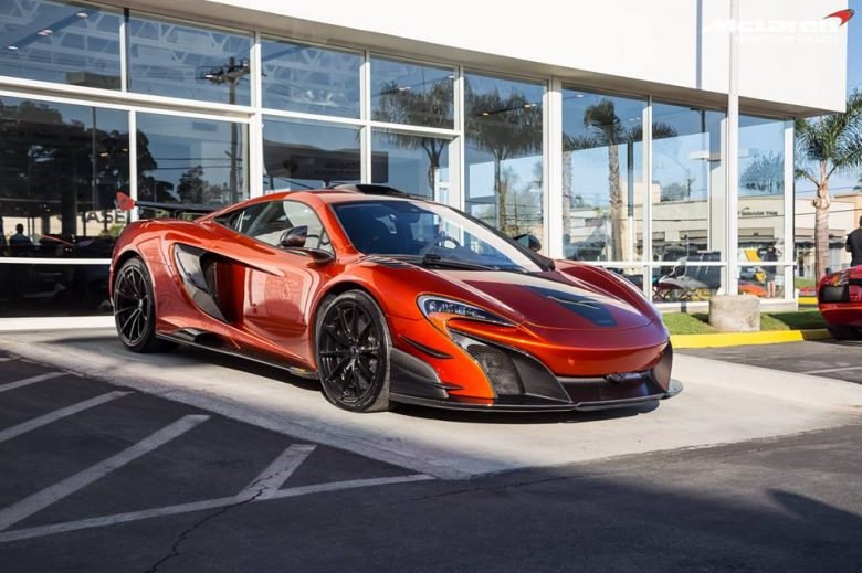 Limited-Run McLaren 688 MSO HS Gets Special Display at Newport Beach Dealer