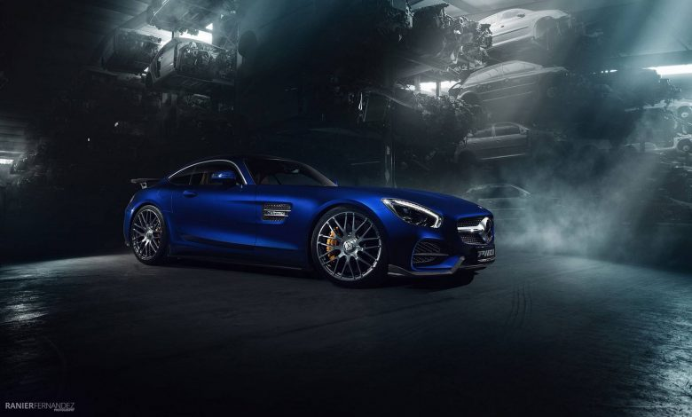 Mercedes-AMG GT-R Gets New Power and Wide Aero Kit from Piecha Design