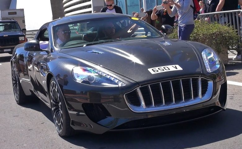 Video: Aston Martin DB9 Based-Vangeance by Kahn Design Cruises the Streets of Monaco