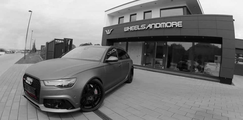 Audi RS6 by Wheelsandmore Churns Out Massive Power
