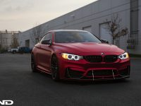 Matte Red BMW M4 by iND Is Mind-Blowing