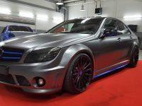 Mercedes-AMG C63 with Prior Design Kit, Installation by Folienwerk-NRW