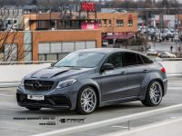 Mercedes GLE Coupe with Wide Body Kit by Prior Design