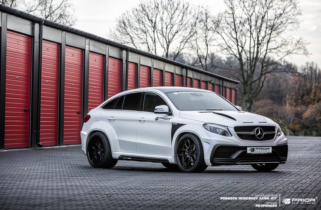 mercedes gle coupe with wide body kit by prior design carz tuning. Black Bedroom Furniture Sets. Home Design Ideas