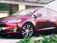 Tesla Model X Comes with Visual Treatment and Interior Tweaks by Vilner