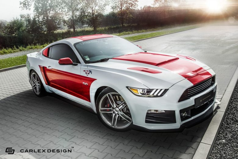 This Is Carlex Design`s New Interior Project on 2016 Ford Mustang