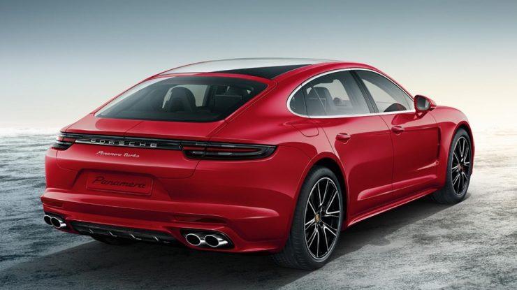 Carmine Red Exclusive Porsche Panamera Turbo Looks Sensational