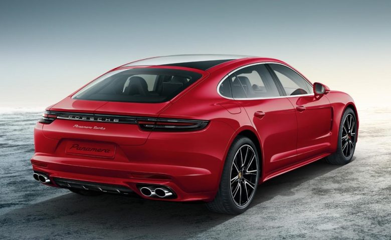 Carmine Red Exclusive Porsche Panamera Turbo Looks Sensational