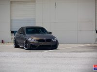 F80 BMW M3 Wrapepd in Vossen Wheels, Video Highlights Exquisite Looks