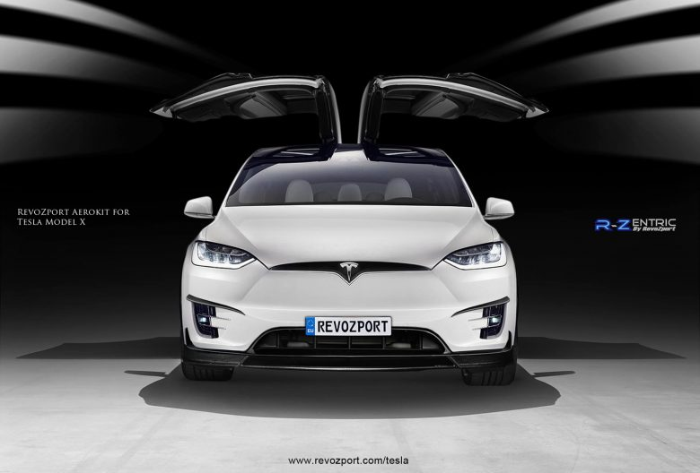 Tesla Model X with the R-Zentric Package by RevoZport
