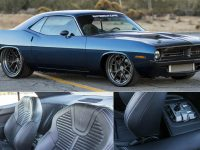 Restomod: 1970 Plymouth Barracuda by SpeedKore Sounds Extremely Menacing