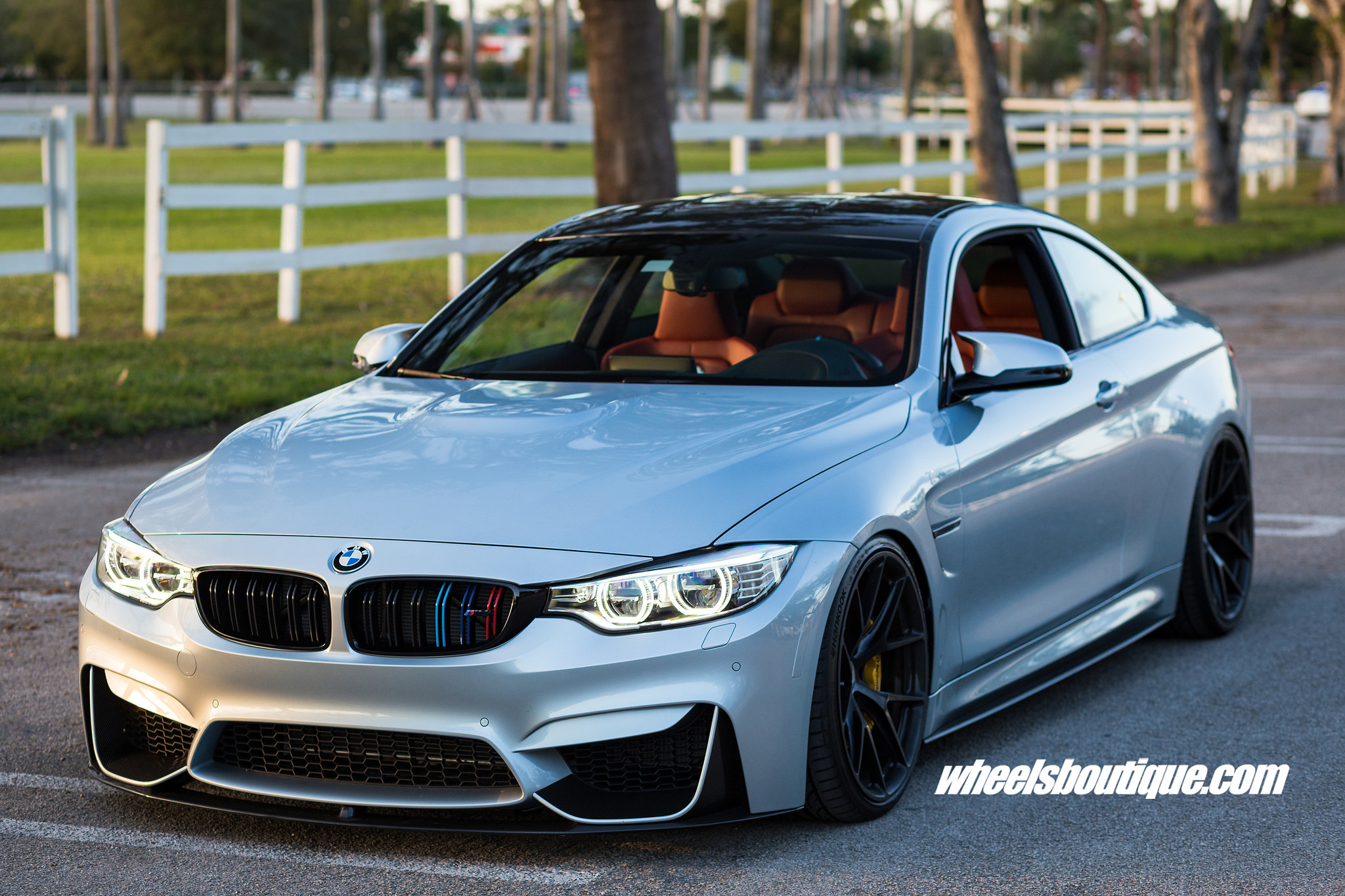 F82 BMW M4 Sits on HRE Wheels, Customizations by Wheels ...