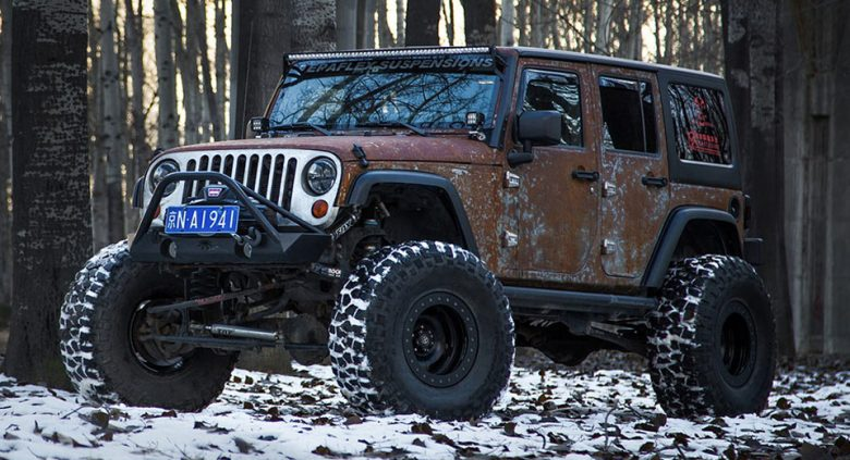 "This Is One Bad-Ass Jeep Wrangler ""Hunting Unlimited"" by Vilner"