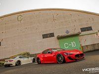 Maserati GranTurismo with Bragging Treatment from Liberty Walk
