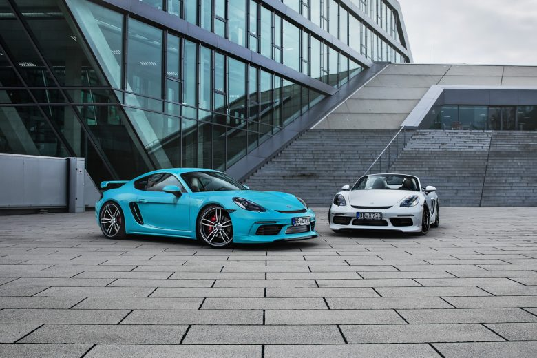 TechArt`s Porsche 718 Cayman & Boxster Are Ready for Geneva 2017