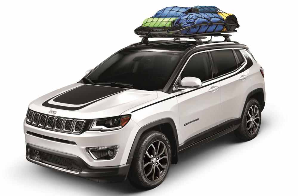 2017 jeep compass comes with plethora of mopar goodies carz tuning. Black Bedroom Furniture Sets. Home Design Ideas
