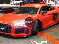Video: Audi R8 V10 Plus by ABT Sportsline Sounds Extremely Loud