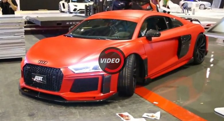 Video Audi R8 V10 Plus By Abt Sportsline Sounds Extremely Loud