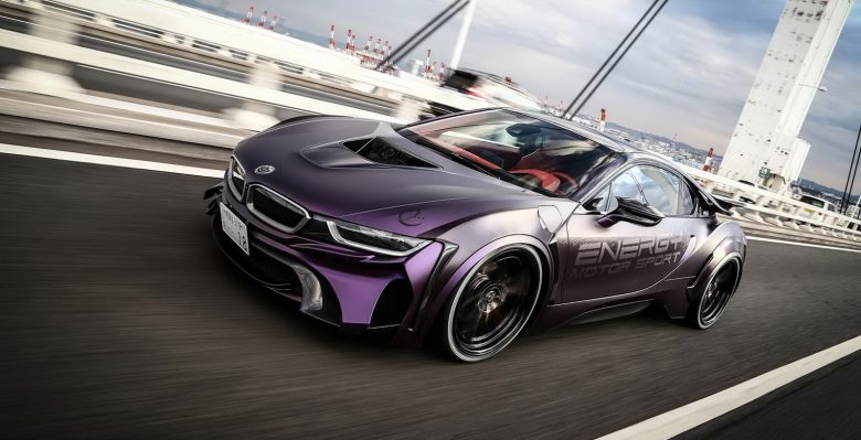 Energy Motor Sports Tuner Add Dark Night Edition to BMW i8