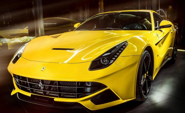 Ferrari F12 Belinetta with Interior Tweaks by Carlex Design