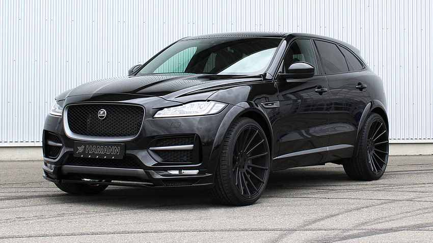 video hamann s jaguar f pace tuning project kicks off in geneva carz tuning. Black Bedroom Furniture Sets. Home Design Ideas