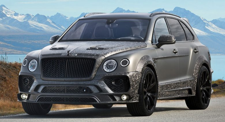 Bentley Bentayga by Mansory Breaks Lose in Geneva