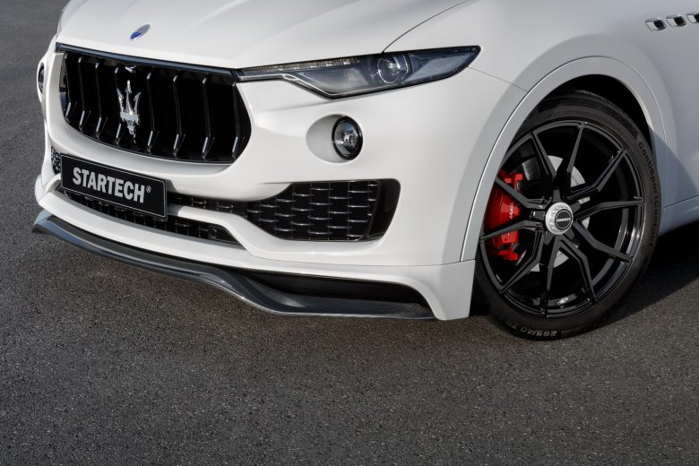 Maserati Levante Arrives in Geneva with Special Aero Package by Startech