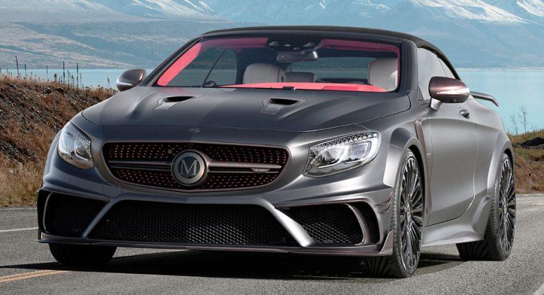 2017 Geneva Motor Show: Mansory Tuning Company Presents Mercedes Range