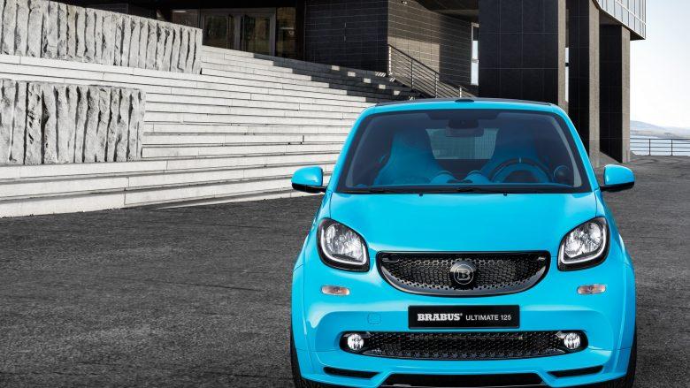 Brabus Previews Custom Smart ForTwo Cabrio ahead Geneva