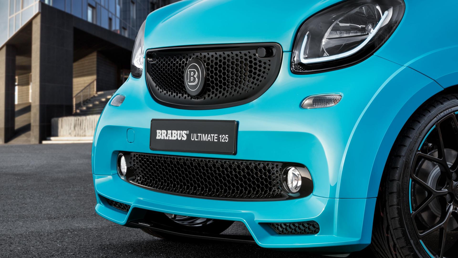brabus previews custom smart fortwo cabrio ahead geneva. Black Bedroom Furniture Sets. Home Design Ideas