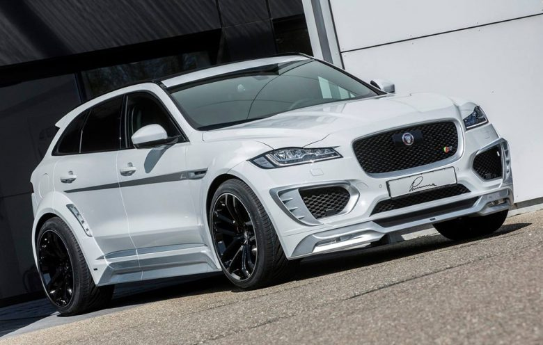 Video: Jaguar F-Pace with Power Upgrade by Lumma Design