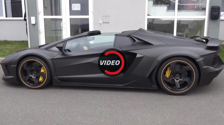 Mansory`s Lamborghini Aventador Carbonado Apertos Is One Sick Bastard