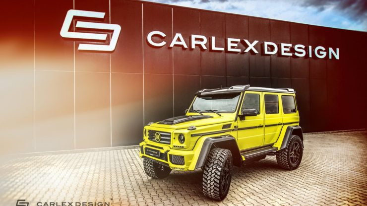 Carlex Design Add Some One-Off Interior Touches to This Powerful Brabus G500 4×4²
