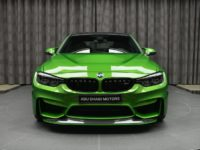 Java Green BMW M3 with M Performance Parts Arrives in Abu Dhabi