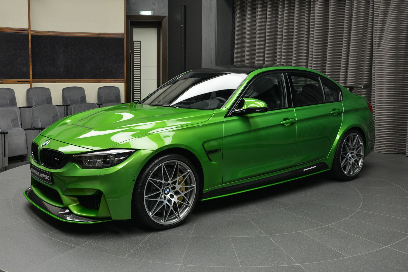 Java Green Bmw M3 With M Performance Parts Arrives In Abu