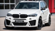 "Video Highlights BMW X5M ""Typhoon"" with Power Kit by G-Power"