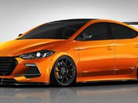 This Is BTR`s Special Edition Hyundai Elantra Sport Kicking Off at 2017 SEMA, This October