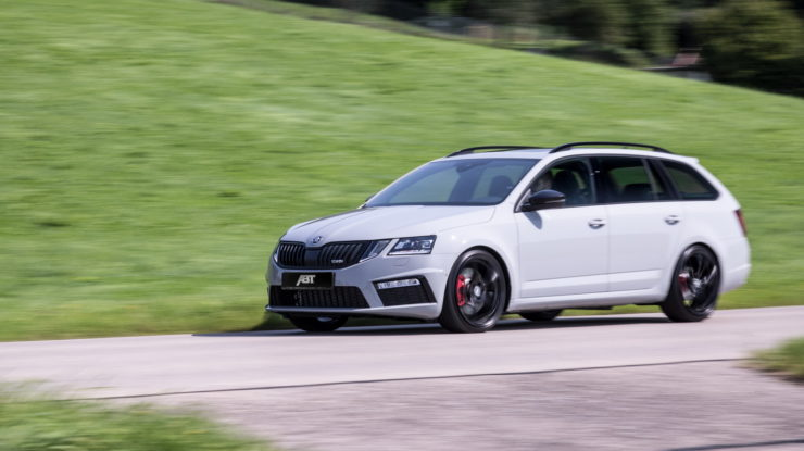 This Is Skoda Octavia RS by ABT Sportsline, Outputs 315 HP