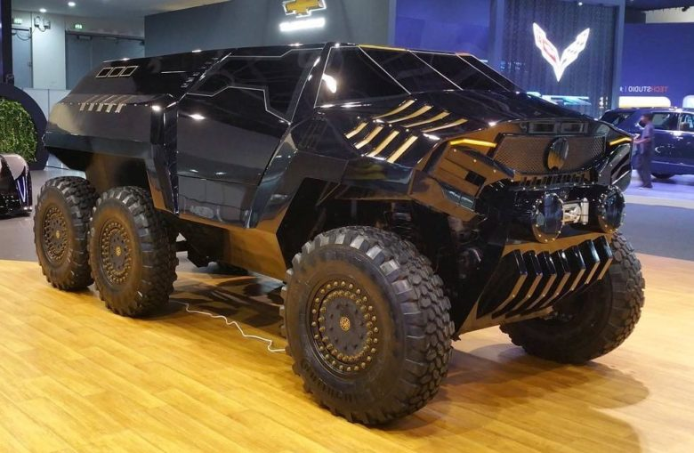 Video: This Is Dubai`s Ultimate SUV Ever Built – Devel Sixty 6×6