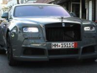 This Rolls-Royce Wraith`s Wide Body Kit by Novitec Is a Real Head-Turner in Marbella, Spain