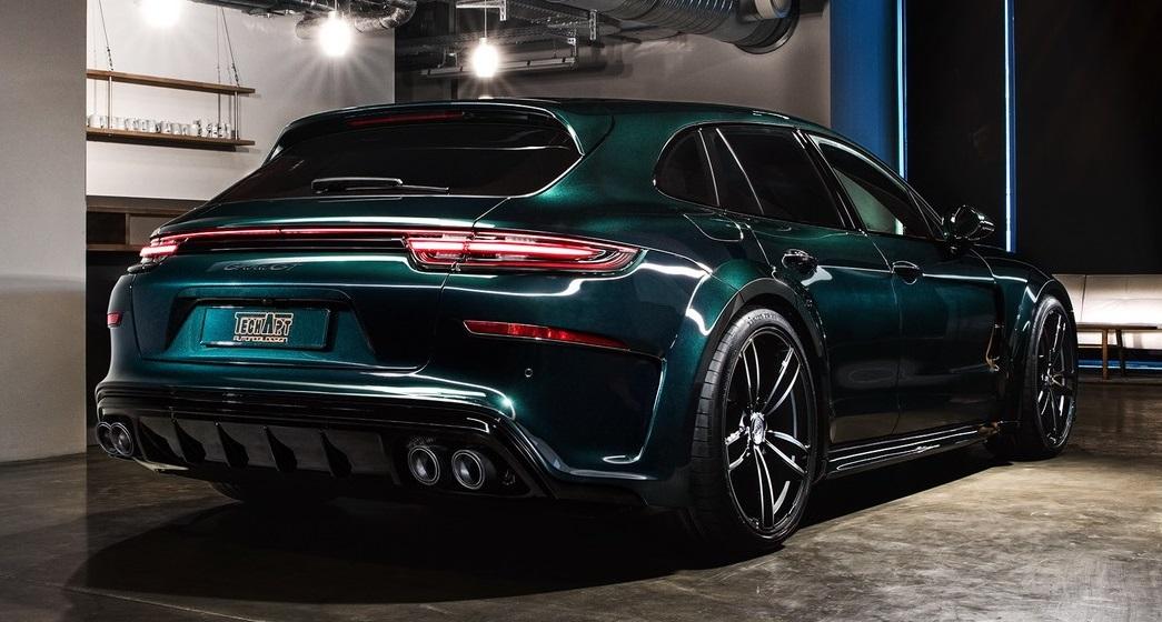 Techart Takes On Quot Supreme Quot 2018 Porsche Panamera Sport
