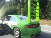 Old Toyota Celica is Actually Wingo from CARS
