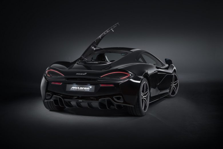 McLaren 570GT MSO Black Collection Limited-Run, Price Set at £179,950