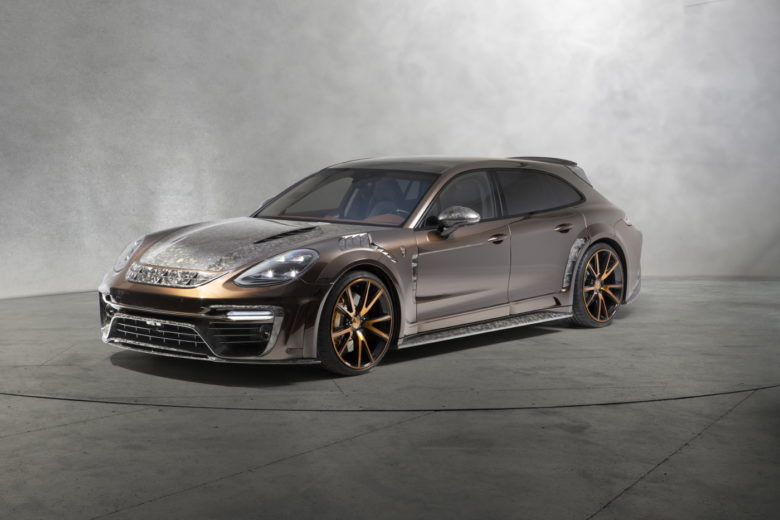 Mansory Reskins Porsche Panamera Sport Turismo with Carbon Fiber Package