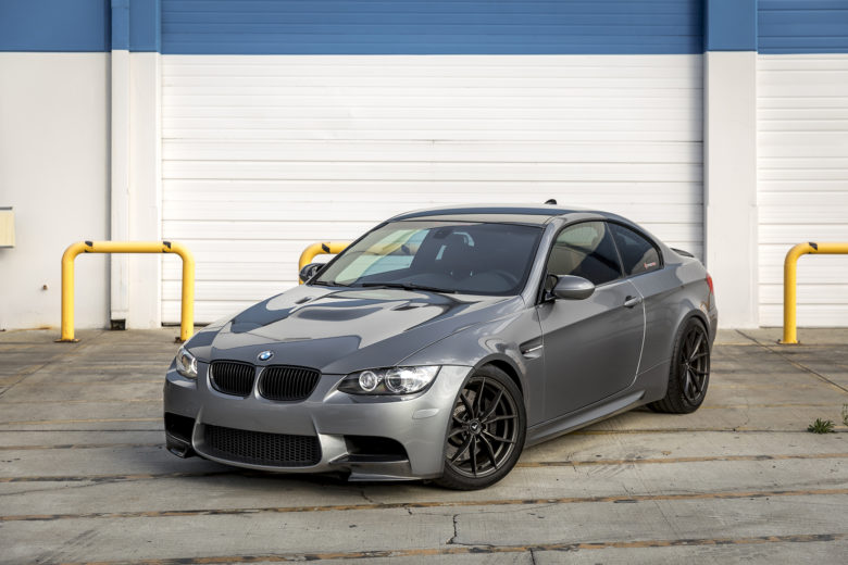 E92 BMW M3 with Vorsteiner Wheels and Visual Enhancements by Supreme Power