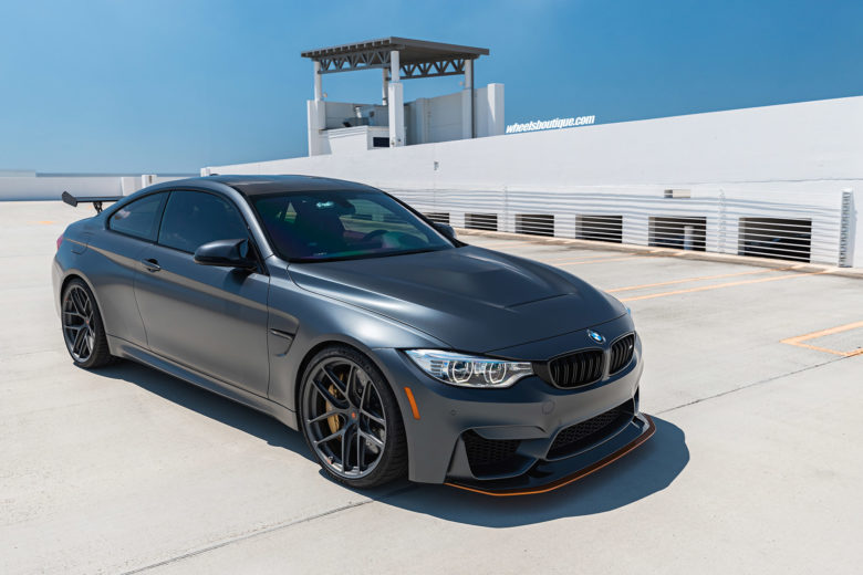 BMW M4 GTS Sits on HRE Wheels
