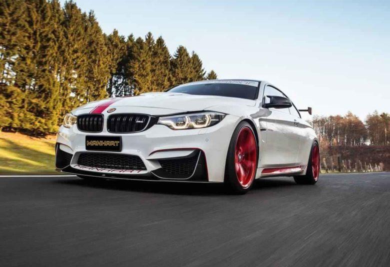 BMW M4 with Impressive Power Upgrade by Manhart